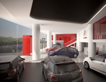 Citroen Showroom – Kifisias Av Athens