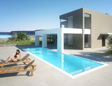 Seaside residence in Rhodes