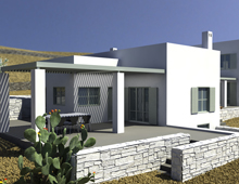 residence in Tinos